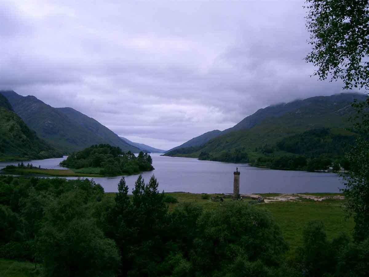 The picturesque Loch Lomond
