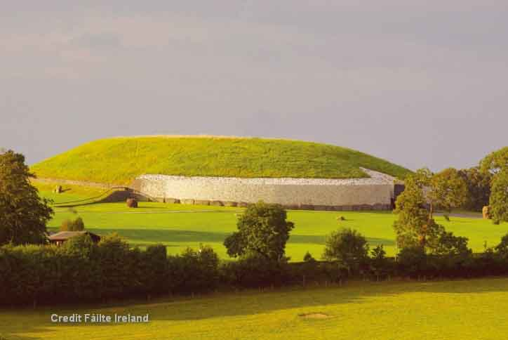 Newgrange archaeological site - recognised to be  a place of astrological, spiritual, religious and ceremonial importance