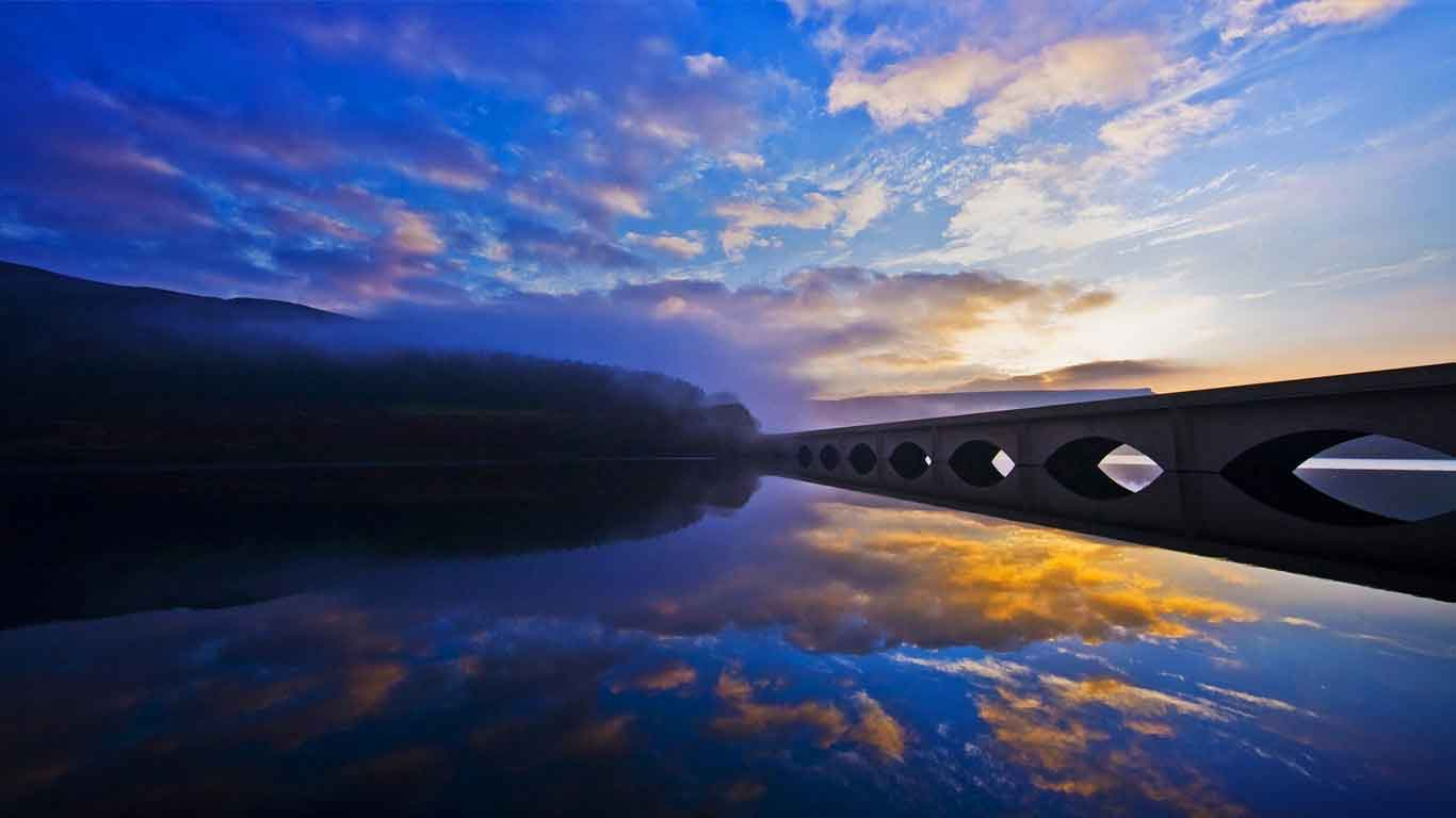 Peak District National Park - a world of contrasting natural beauty, with moors and dales, rivers, springs and caverns