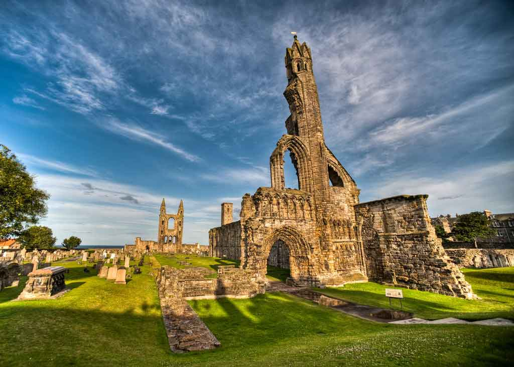 St. Andrews - a beautiful coastal resort and home to the world famous golf club