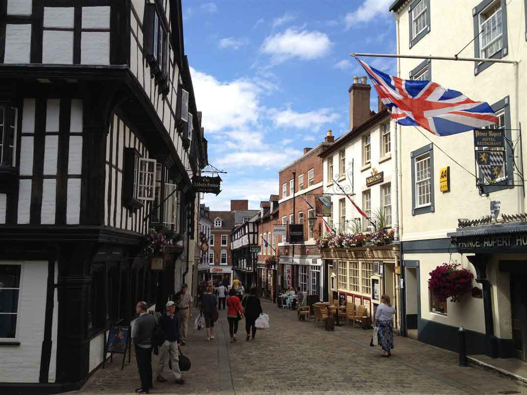 Visit Shrewsbury where you will visit the Viroconium another possible site of Camelot.