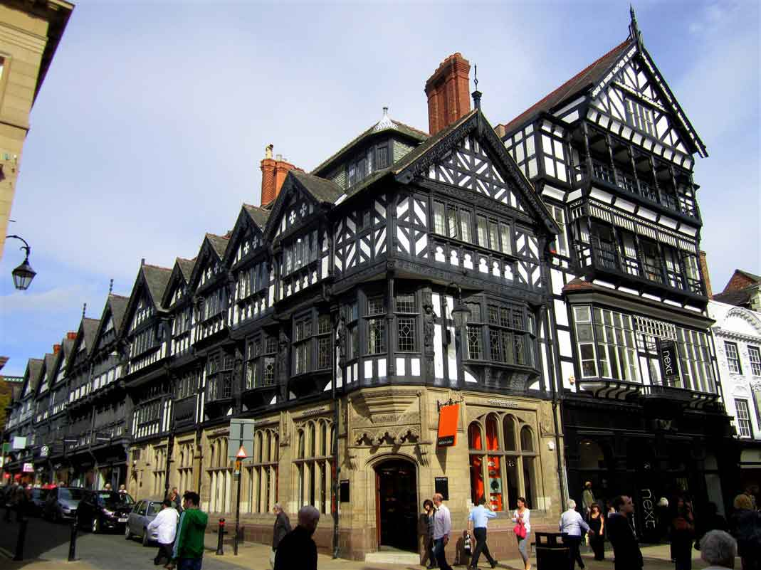 Chester -  arguably the richest city in Britain for archaeological and architectural treasures
