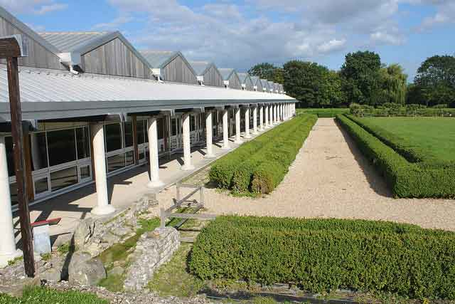 Visit Fishbourne Roman Palace. where you can explore the remains of the largest Roman domestic building in northern Europe