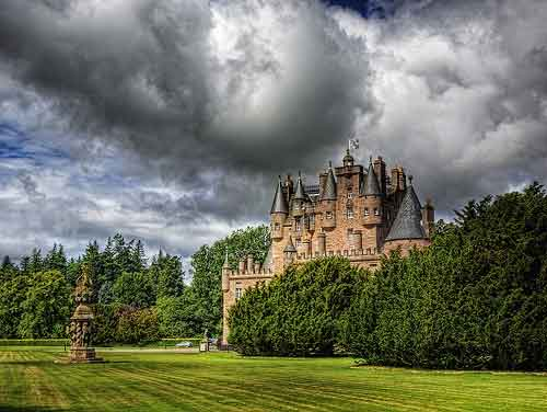 Dundee and Glamis Castle