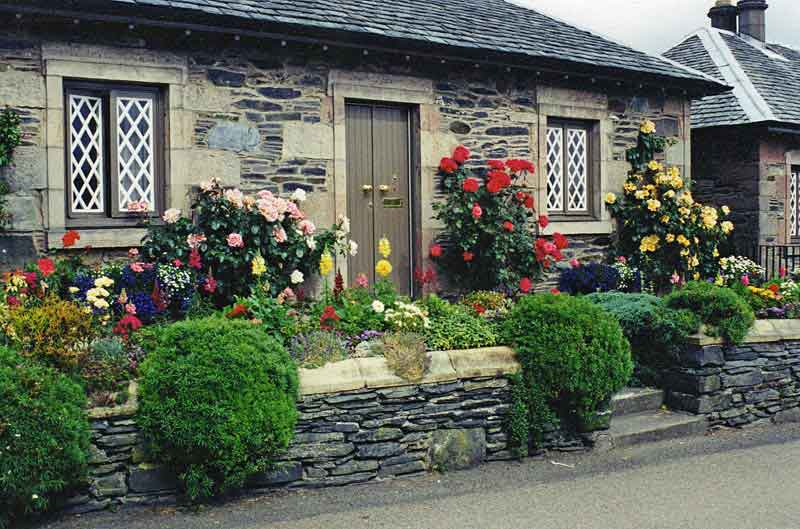 Pretty conservation village of Luss