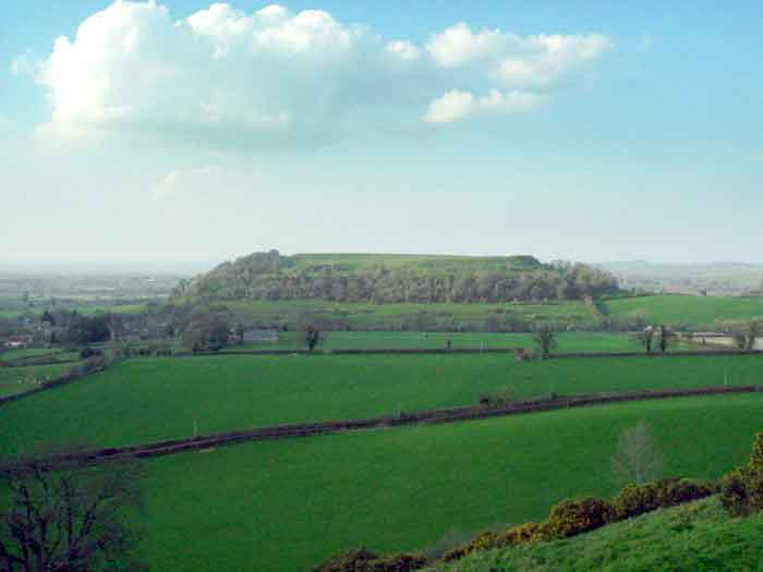 Visit Cadbury Castle, the best known and most interesting of the reputed sites of Camelot.