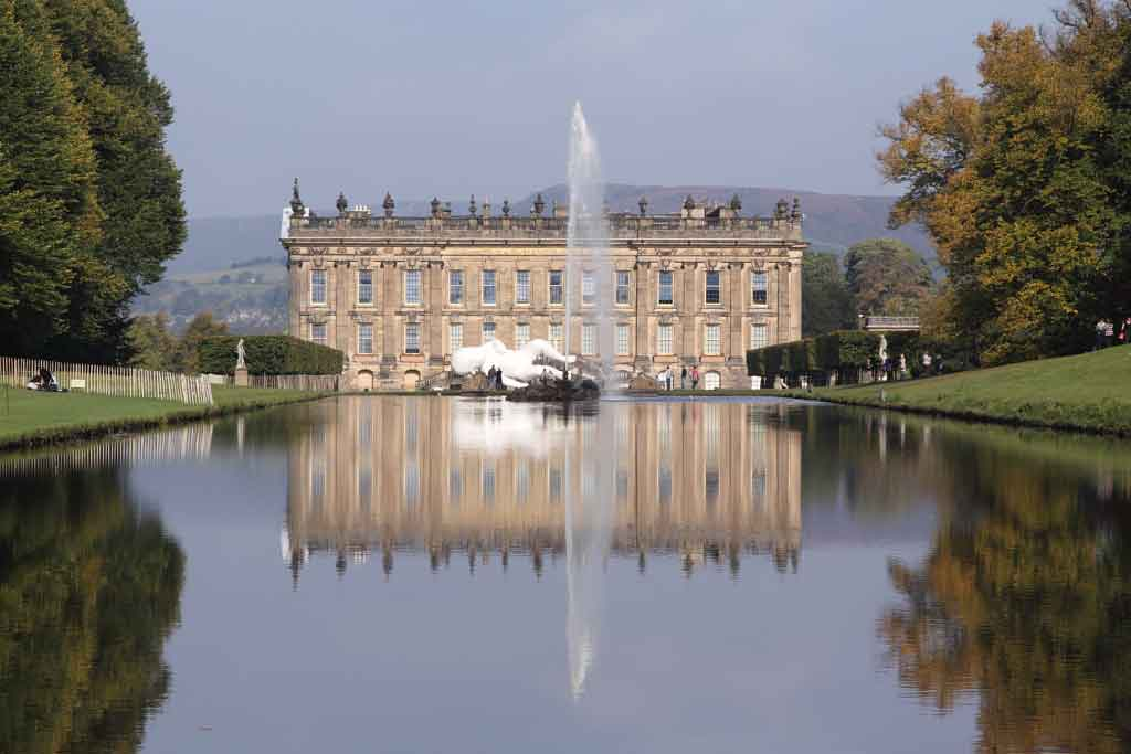 Visit Chatsworth House and Gardens, one of Britain's most impressive stately homes