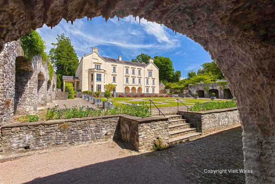 Visit Carmarthen, the oldest town in Wales with its cobbled streets