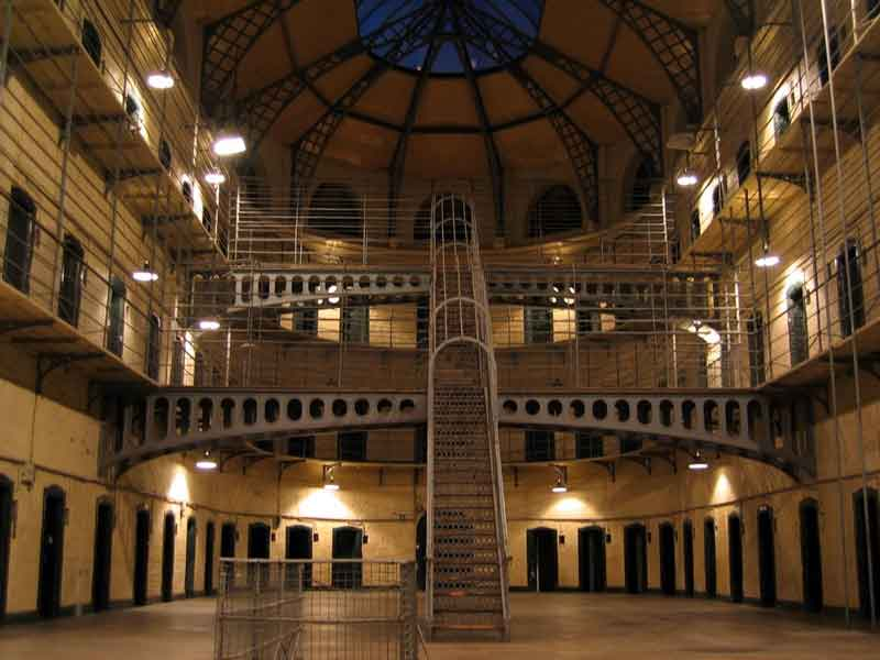 Kilmainham Gaol - One of the largest unoccupied gaols in Europe, covering some of the most heroic and tragic events in Ireland's emergence as a modern nation from 1780s to the 1920s