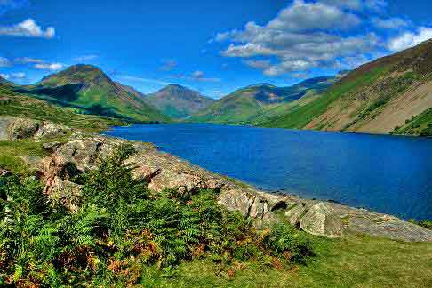 Traverse the Lake District, England's biggest and best known National Park