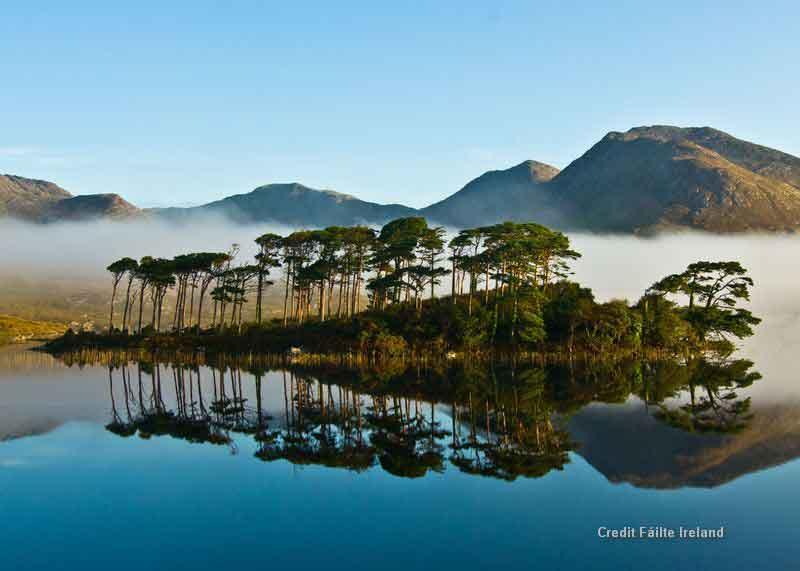 Connemara National Park - regarded as the real emerald of Ireland