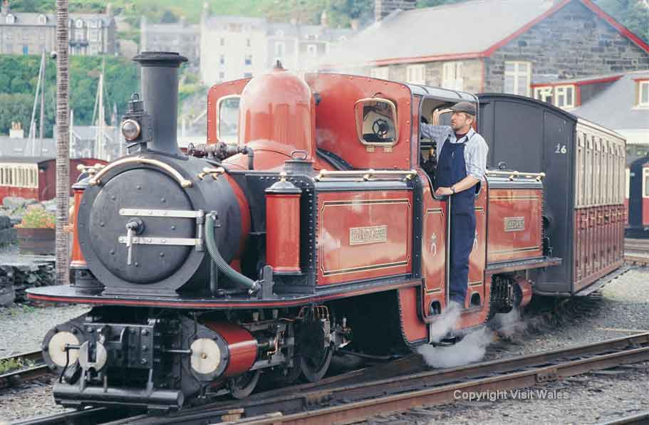 Ffestiniog, the oldest independent railway company in the world