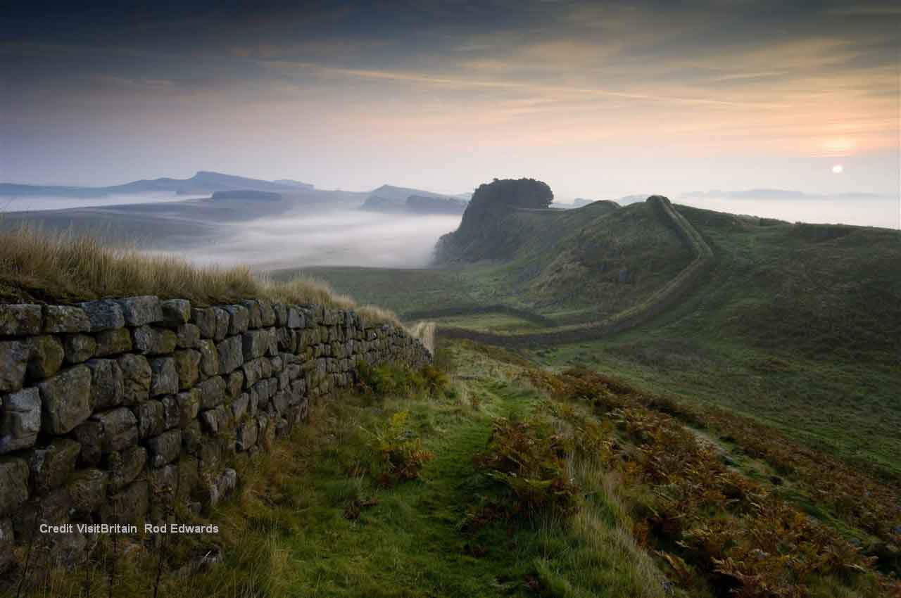 •	Visit the Roman city of Carlisle and Hadrian's Wall