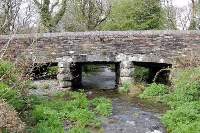 Drive to Slaughter Bridge where it is said that King Arthur met Mordred for the decisive battle of Camlann