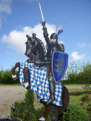 Visit the Arthurian centre and learn about the legends