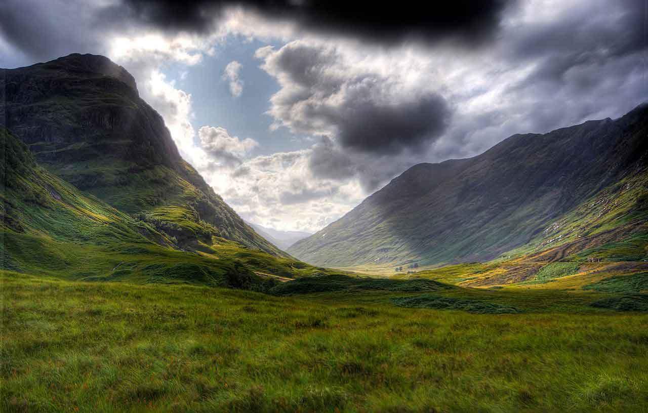 Glencoe - Scotland's most famous, most scenic, most historic glen,