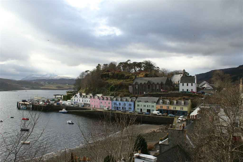 Portree -  a bustling port and a thriving cultural centre