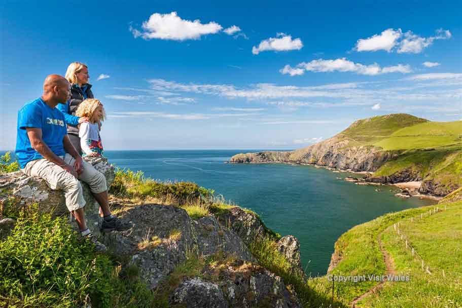 Cross the Wales Coast Path