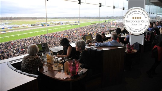 Enjoy a relaxed, informal day at the races