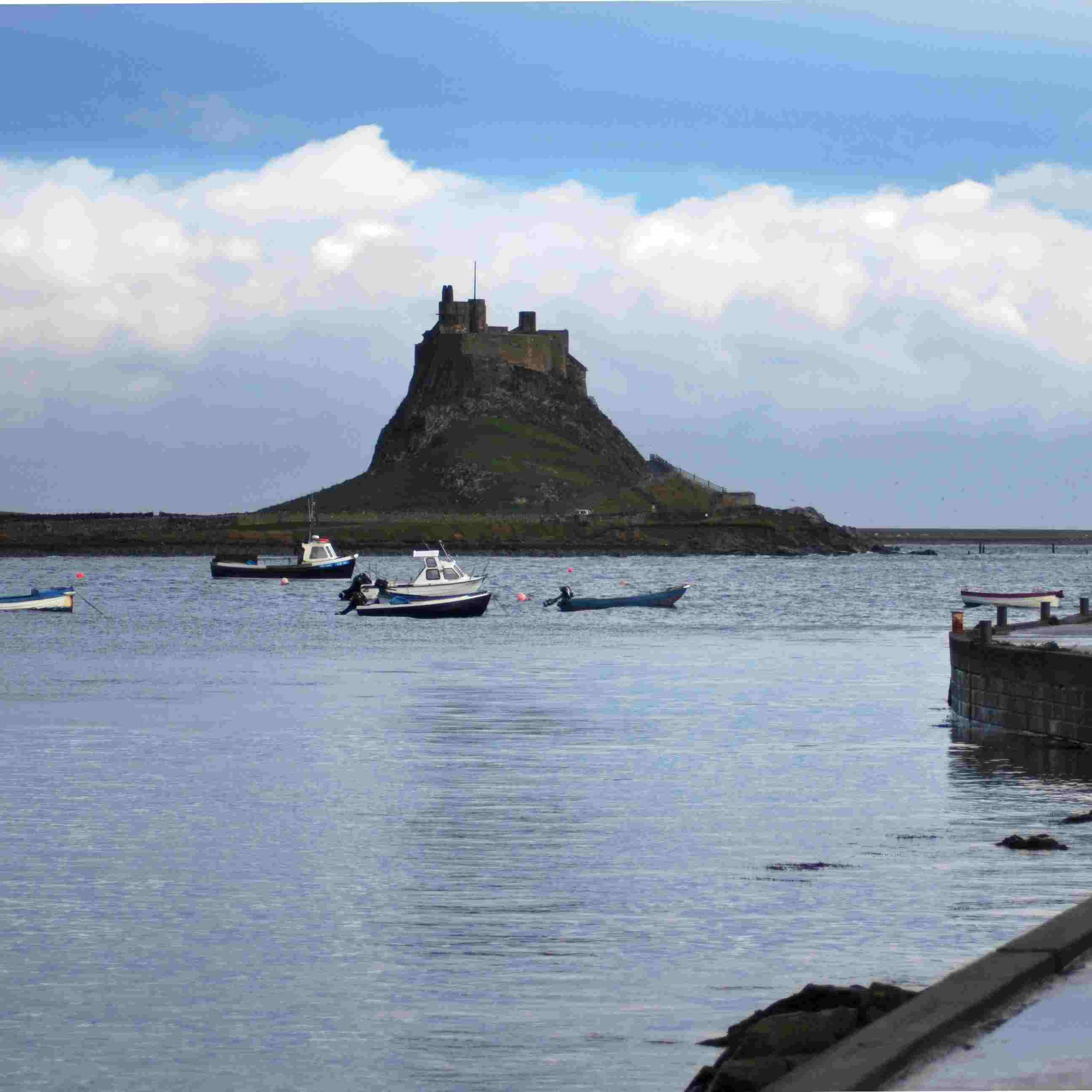 Discover the history and nature of the picturesque village, Holy Island
