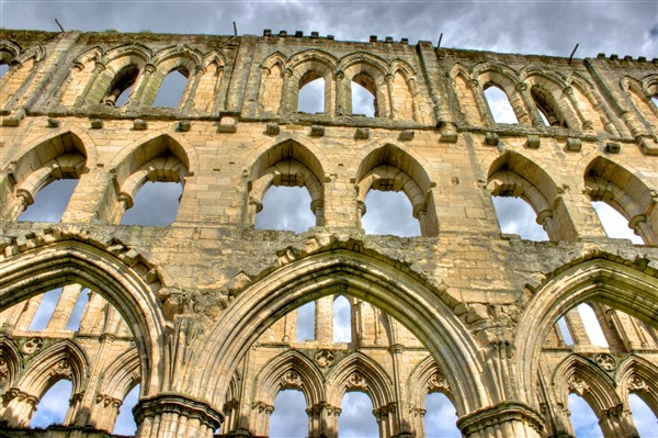 Rievaulx Abbey - one of the most complete, and atmospheric, of England's abbey ruins