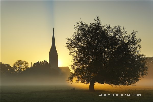 Salisbury and its vibrant Cathedral and best preserved Magna Carta