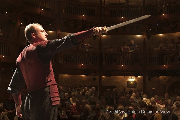 Enjoy a Shakespearean performance by the Royal Shakespeare Company