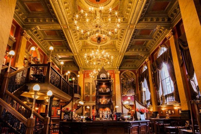 Enjoy a pie and a pint in a beautifully renovated pub with stunning surroundings