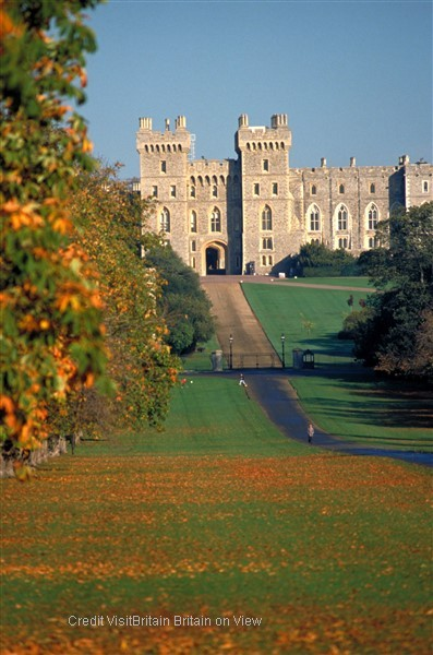 Windsor Castle - an official residence of The Queen and the largest occupied castle in the world.