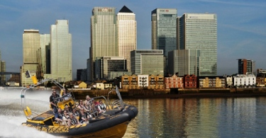 Take in the London's landmarks and feel the andrenalin with the ultimate high powered boat experience on the river Thames
