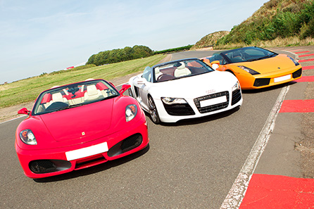 Supercar Blast plus High Speed Passenger Ride - get behind the wheel of incredible supercars including an Audi R8, Aston Martin, Ariel Atom, Lamborghini, Ferrari and more