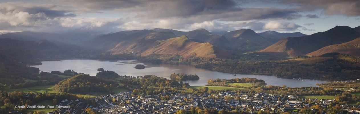 views from Latrigg in the Lake District Banner 3CC  Credit VisitBritain  Rod Edwards