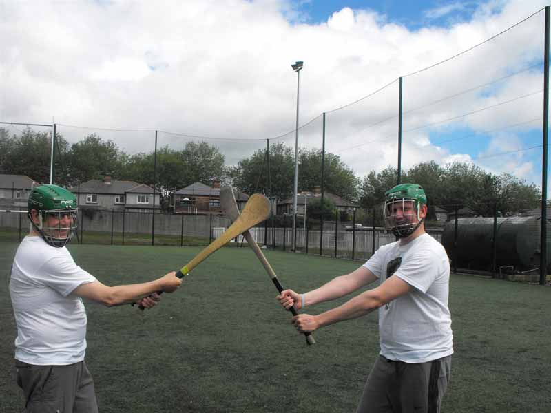 Participate and learn about Gaelic football, hurling and handball