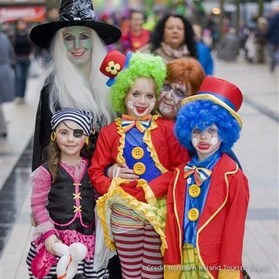 Halloween Carnival Weekend – Derry, Northern Ireland: 29 October – 1 November 2015