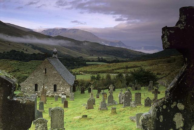 Glen Nevis - one of Scotland's most picturesque Highland glens