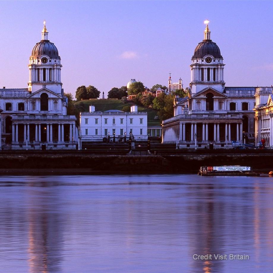Greenwich Soak up the romantic baroque architecture, admiring the impressive views of London