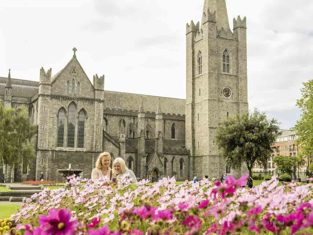 <b>St. Patrick's Cathedral</b> a church beside the well where St. Patrick is said to have baptised early converts