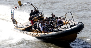 Activities - Thames RIB: The Ultimate Spy Experience  Speedboat along the River Thames, see the sights and hear fascinating true stories about the life and times of author Ian Fleming, the history of the British Secret Service and James Bond