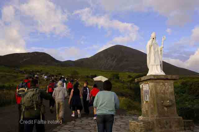 <b>Croagh Patrick</b> -  set on the top of a mountain offering breath taking views