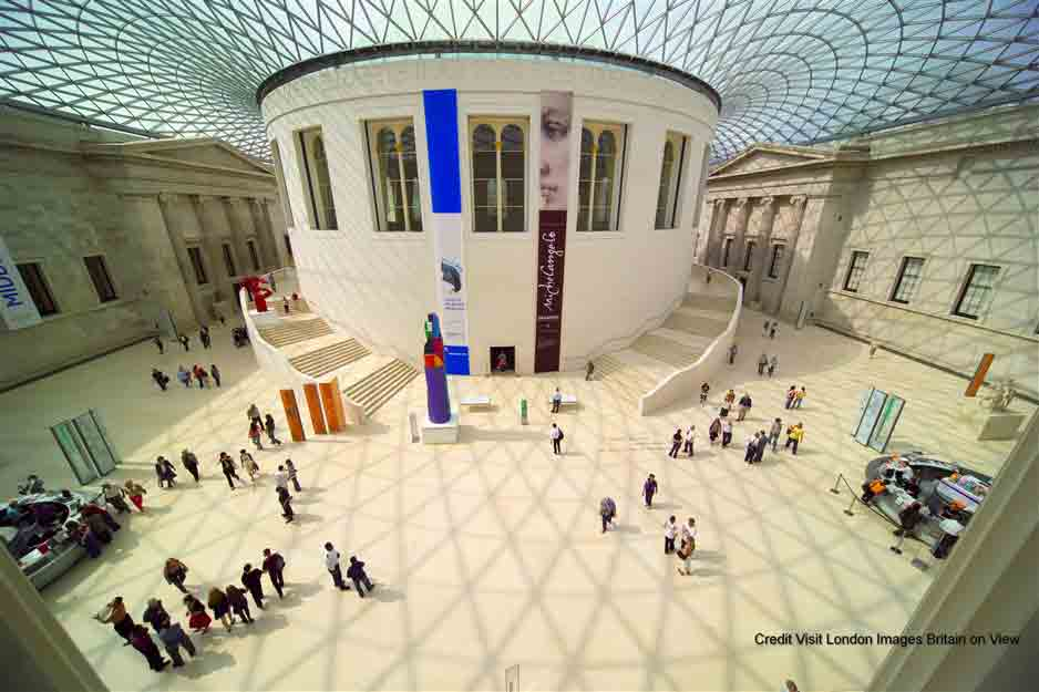 British Museum See a remarkable collection which spans over two million years of human history