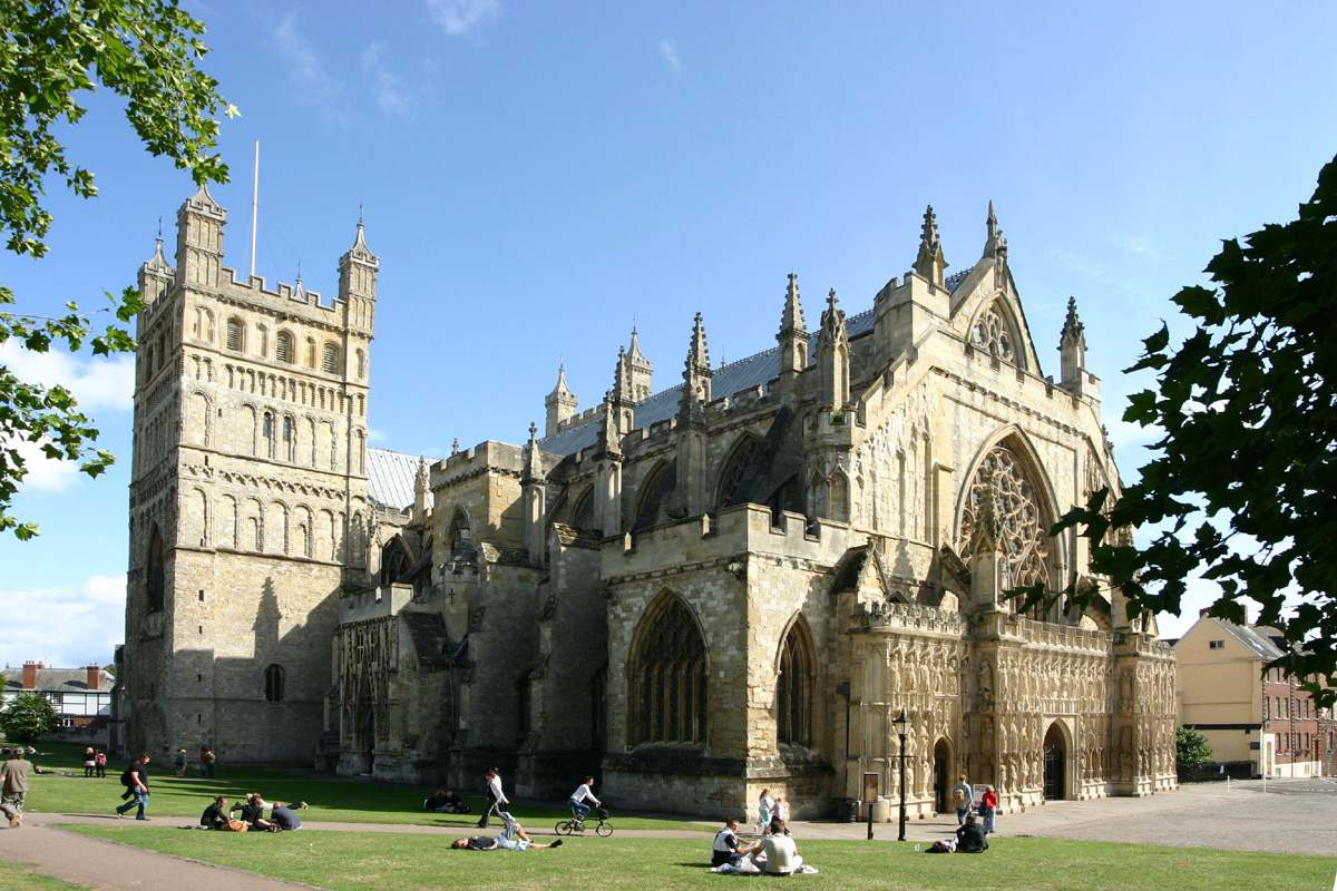Exeter -  full of character and ancient history